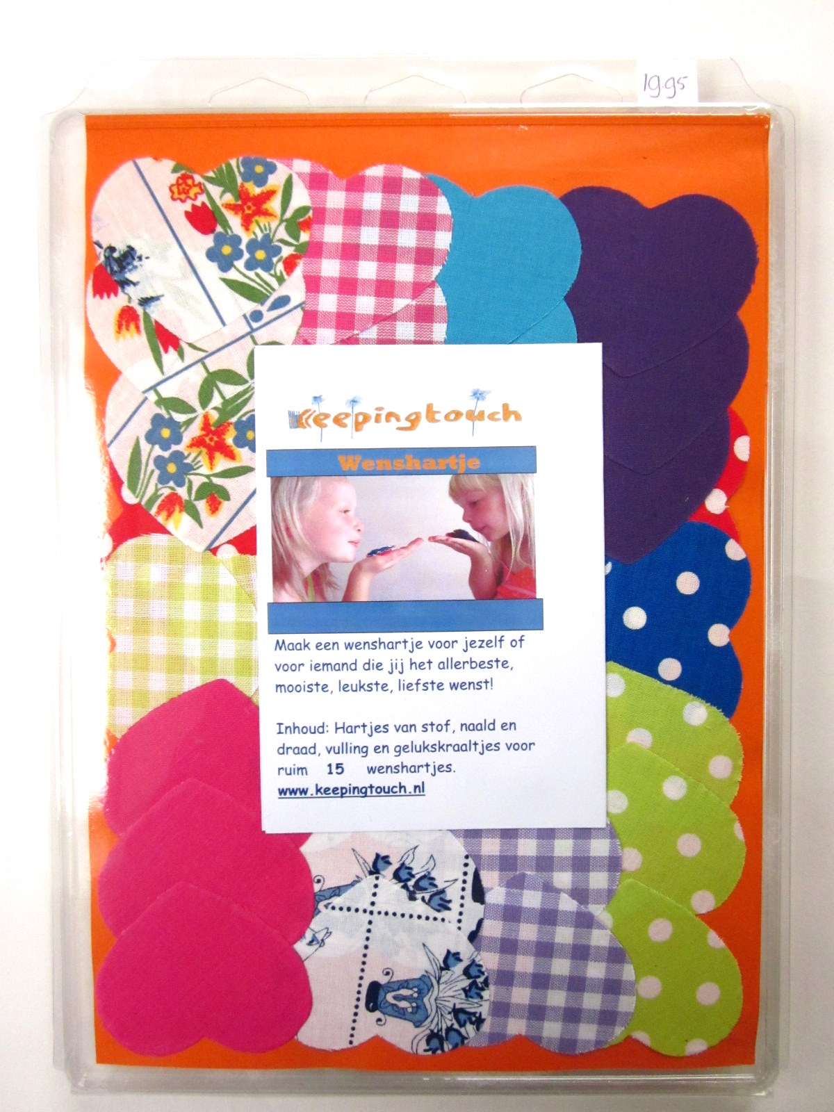 Make it yourself wenshartjes, Keepingtouch, in contact blijven met mooie momenten