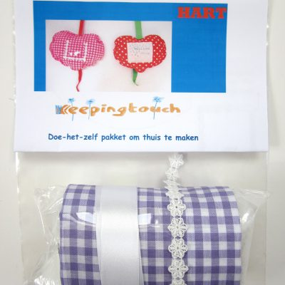 Knuffelhart make it yourself, Keepingtouch, in contact blijven met mooie momenten.