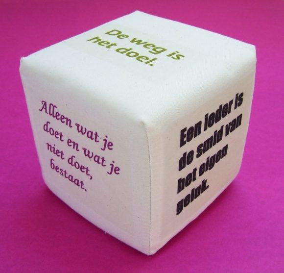 Wijsheid kubus