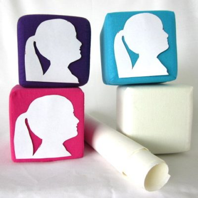 Zelfmaakpakket silhouet wit, Silhouet kubus, DIY pakket, diy pakket, diy, silhouet knippen, knipkunst, knip en ontwerp een silhouet kubus als interieur decoratie voor in huis, Keepingtouch
