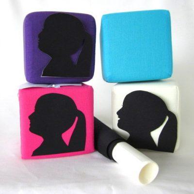 Zelfmaakpakket silhouet zwart, Silhouet kubus, DIY pakket, diy, diypakket, silhouet knippen, knipkunst, knip en ontwerp een silhouet kubus als interieur decoratie voor in huis, Keepingtouch